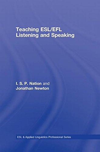 9780415989695: Teaching ESL/EFL Listening and Speaking