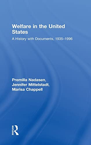 9780415989787: Welfare in the United States: A History with Documents, 1935–1996