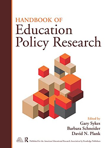 Handbook of Education Policy Research: Routledge
