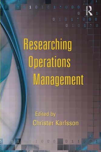 9780415990561: Researching Operations Management