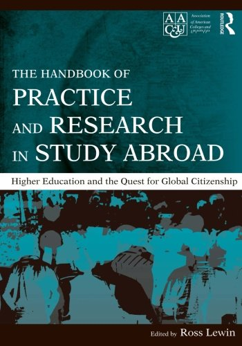 9780415991612: The Handbook of Practice and Research in Study Abroad: Higher Education and the Quest for Global Citizenship