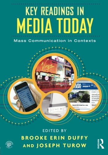 9780415992053: Key Readings in Media Today: Mass Communication in Contexts