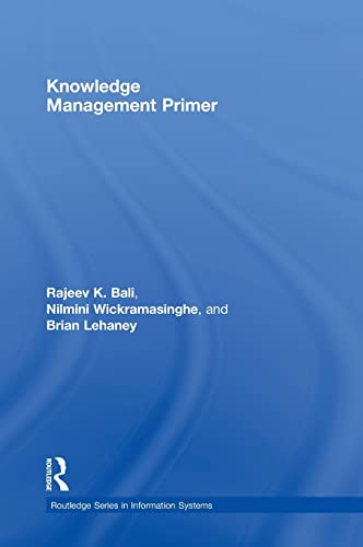 9780415992329: Knowledge Management Primer (Routledge Series in Information Systems)