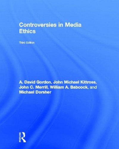 9780415992473: Controversies in Media Ethics