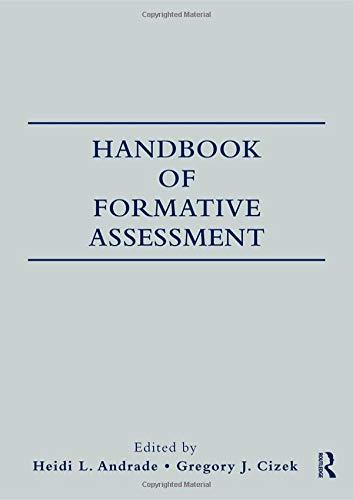 9780415993197: Handbook of Formative Assessment