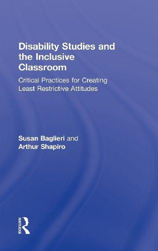 Disability Studies and the Inclusive Classroom: Shapiro, Arthur; Baglieri, Susan