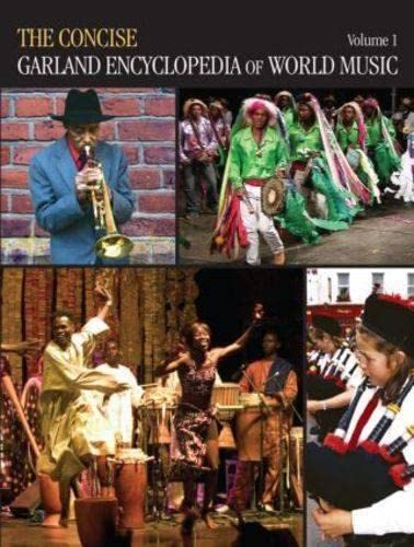 9780415994033: The Concise Garland Encyclopedia of World Music, Volume 1