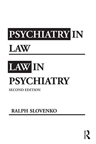 9780415994910: Psychiatry in Law / Law in Psychiatry, Second Edition