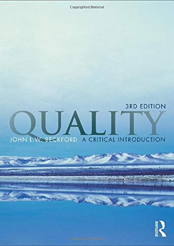 9780415996341: Quality: A Critical Introduction, Third Edition