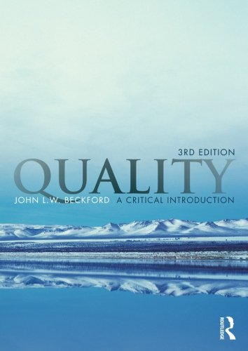 9780415996358: Quality: A Critical Introduction, Third Edition