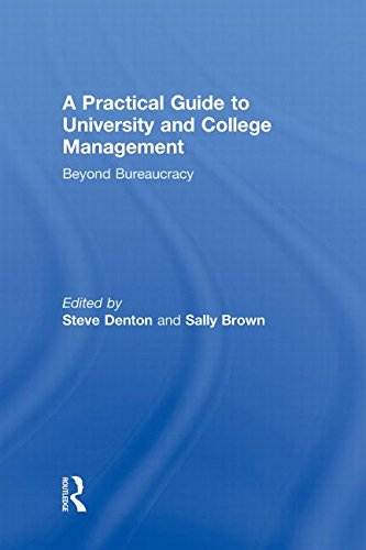 9780415997171: A Practical Guide to University and College Management: Beyond Bureaucracy