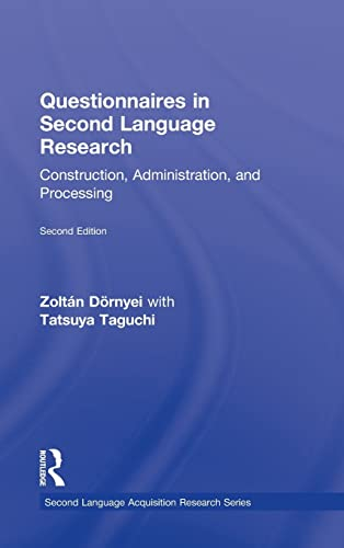 9780415998192: Questionnaires in Second Language Research: Construction, Administration, and Processing (Second Language Acquisition Research Series)