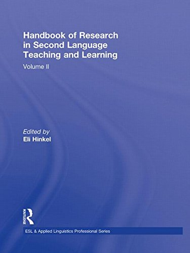 9780415998710: Handbook of Research in Second Language Teaching and Learning: Volume 2 (ESL & Applied Linguistics Professional Series)