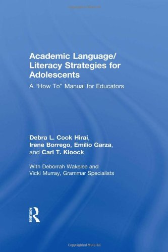 9780415999656: Academic Language/Literacy Strategies for Adolescents: A How-To Manual for Educators