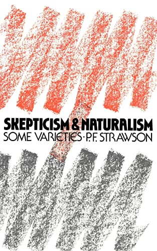 9780416000023: Scepticism and Naturalism: Some Varieties