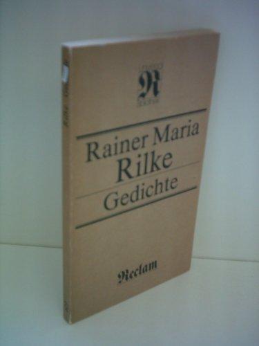 9780416011913: Rainer Maria Rilke: Selected poems