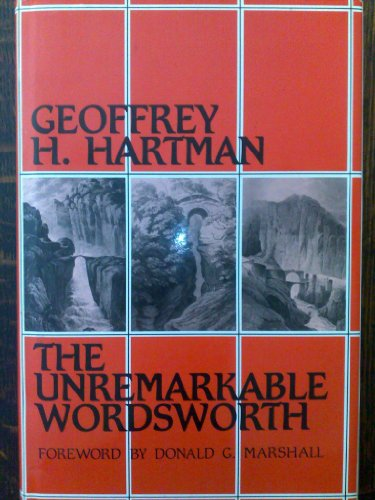 9780416051322: The Unremarkable Wordsworth (University paperback)