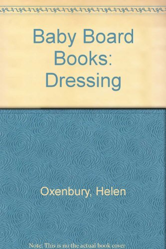 9780416056204: Baby Board Books: Dressing