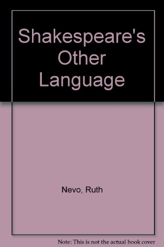 9780416064025: Shakespeare's Other Language