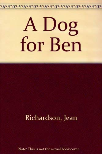 9780416077322: A Dog for Ben