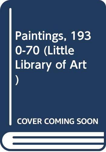 9780416083309: Paintings, 1930-70