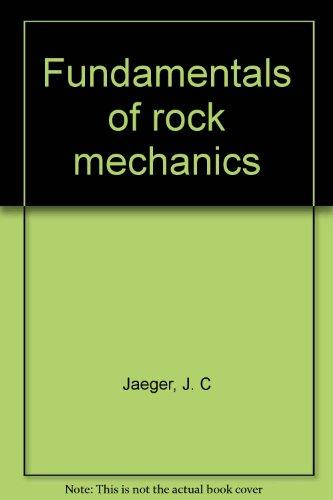 9780416107609: Fundamentals of rock mechanics