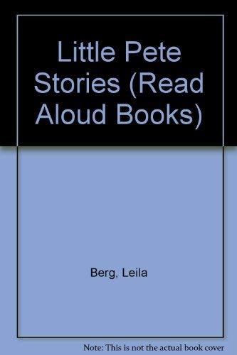 9780416117608: Little Pete Stories