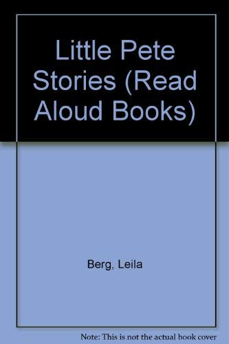 9780416117608: Little Pete Stories (Read Aloud Books)