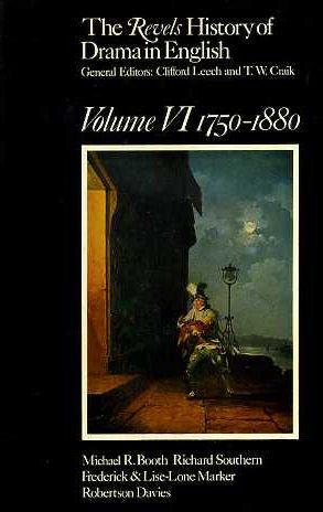 9780416130706: Revels History of Drama in English: 1750-1880 v. 6