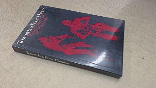 9780416146400: Towards a Poor Theatre (University Paperbacks)