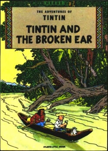 """9780416148725: Tintin 3-in 1 t.2,broken ear, black island, king ottokar's sceptre: """"The Black Island"""", """"King Ottokar's Sceptre"""" and """"The Crab with the Golden Claws"""" v. 2 (Tintin Three-in-one)"""