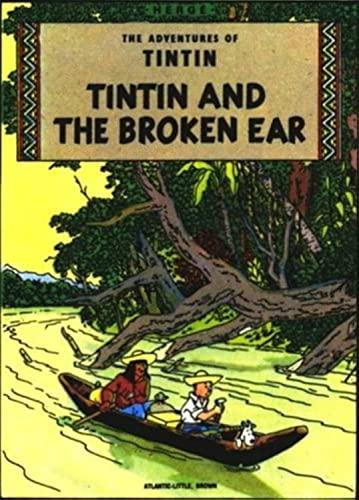 "Adventures of Tintin: """"The Black Island"""", """"King Ottokar's Sceptre"""" and """"The Broken Ear"""" v. 2 (Tintin"