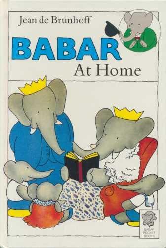 9780416154221: Babar at Home (Babar Pocket Books)