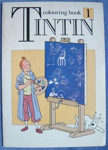 9780416160826: Tintin colouring book 2