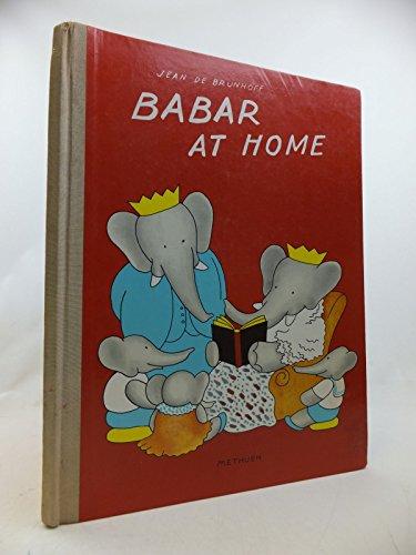 9780416163629: Babar at Home