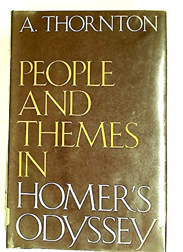 9780416167900: People and Themes in Homer's Odyssey