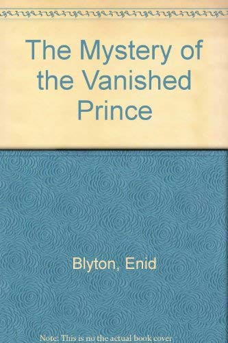 9780416170320: The Mystery of the Vanished Prince