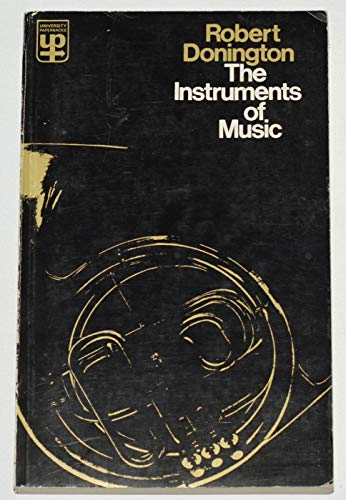 9780416172102: Instruments of Music