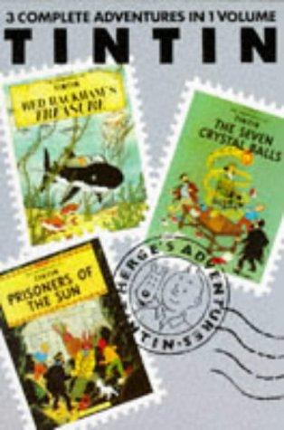 9780416178722: Adventures of Tintin - Volume 4 (Tintin Three-in-one Volumes)