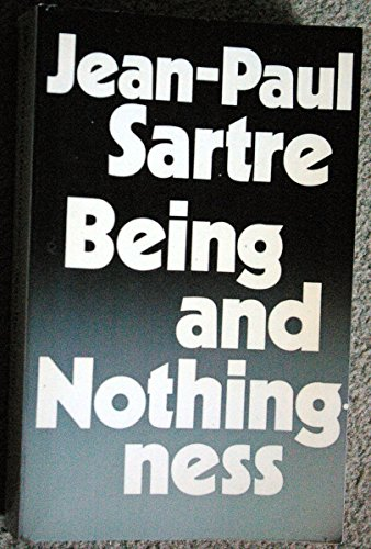 Jean Paul Sartre  Being Nothingness Essay Phenomenological  Abebooks Being And Nothingness Essay On Phenomenological Ontology Sartre  Jeanpaul