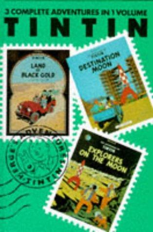 9780416186000: Tintin 3 Adventures Vol. 5 (Tintin three-in-one volumes)(v. 5)