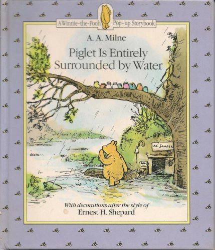 9780416187823: Winnie the Pooh Mini Pop-up: Piglet Is Surrounded by Water Bk. 2 (Winnie-the-Pooh Pop-up Story Books)