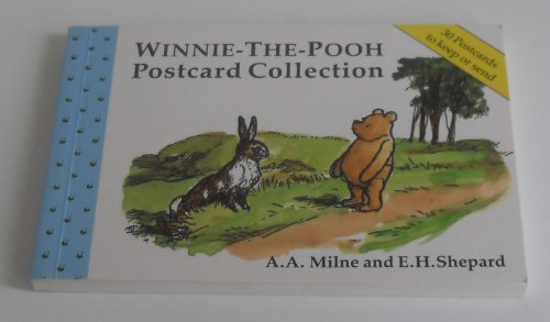 9780416187922: Winnie-the-Pooh Postcard Book