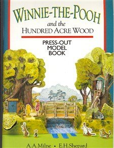 9780416189599: Winnie the Pooh Press-out Model Book