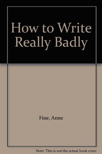 9780416192544: How to Write Really Badly