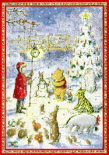9780416193565: Winnie the Pooh Advent Calendar 1996