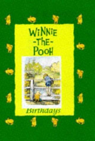 9780416194739: Winnie the Pooh Birthday Book