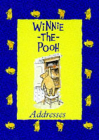 9780416194753: Winnie the Pooh Address Book
