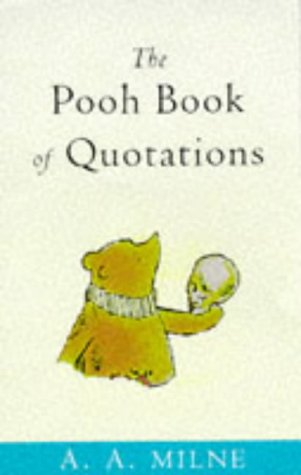 9780416194913: Pooh Book of Quotations (Wisdom of Pooh)
