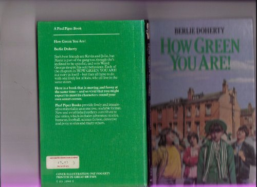 9780416209402: How Green You are! (Pied Piper Books)
